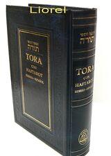 Española Pentateuco Torah Libro Spanish & Hebrew Oración Judío 5 Books of Moses