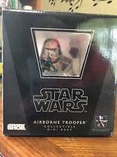 Gentle Giant Star Wars Airborne Trooper Collectible Mini Bust