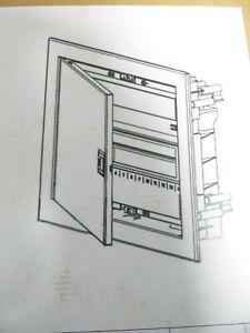 Kopp Profi-Verteilerkasten mit Metalltür 1-reihig 12 Pole Elektro 3405.1100.0