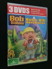 Bob The Builder - Bob's Big Adventures (3 Dvd Set) ABC KIDS RATED G FREE POST