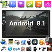 "7"" Doppel 2DIN Autoradio Android8.1 Car Stereo MP5 Player GPS Nav WiFi BT+Kamera"