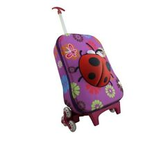 Children's '3D Ladybird' Rollercase, Suitcase, Carry On Luggage | FREE P&P