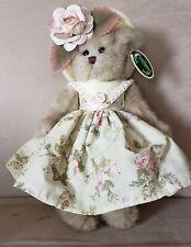 "New! The Bearington Bear Collection Collectible Bear ""Josie"" Style 143127 Nwt"
