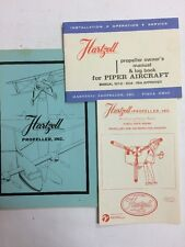 Hartzell Info Manual/Prop Care, Inspection & Piper Owner's Manual & Log Book