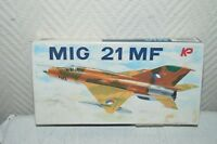MAQUETTE AVION RUSSE  MIG 21 MF PLANE/PLANO NEUF 1/72 MODEL KIT