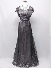 Cherlone Plus Size Grey Ballgown Bridesmaid Formal Wedding/Evening Dress 20-22