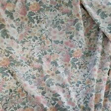 Vintage Marks & Spencer Floral Butterfly Curtains Unlined +Tie Backs W85xL71 Inc