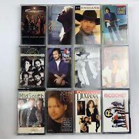 Lot Of 11 Cassettes Reid Brandt Bogguss Evangeline Dixiana Midsouth 90's Country