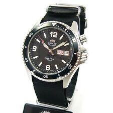 Orient 5 Deep Automatico Orologio subacqueo Professional cem6500 Nato manca lunetta fissa
