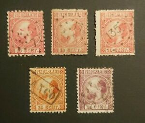 CLASSIC LOT INCL DIFFERENT TEETH TYPES VFUSED NETHERLANDS NEDERLAND B98.17 $0.99