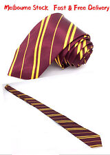 New Harry Potter Gryffindor Ties Neckties Fancy Dress Hogwarts Hermione Tie Book