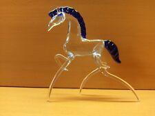 Pferd Hengst aus Glas Tierfigur handgefertigte Glasfigur Handarbeit Geschenk