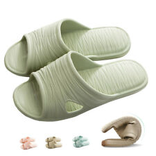 Women Men Bathroom Non-Slip Sandals House Indoor Soft Summer Beach Spa Shoes