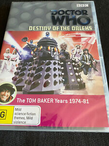 Doctor Who - Destiny of the Daleks DVD region 4 brand new condition