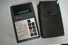 VINTAGE DECIMO VATMAN Green LED Calculator