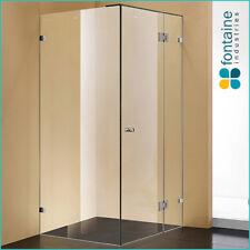 Frameless Shower Screen 1000 Panels Tough 10mm Safety Glass AU Standard