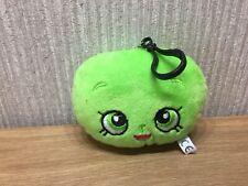 Shopkins Plush KeyRing Soft Toy Pram Clip Bag Charm NEW Green Apple