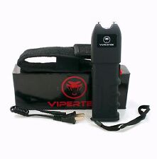 VIPERTEK 87 Million Volt Self Defense Stun Gun + Free taser holster