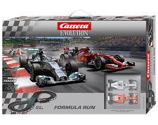 Carrera Evolution Formula Run 1/32 Slot Car Set 25213 CRA25213