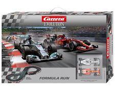 Carrera Evolution Formula Run 1/32 Slot Car Set 25213 CRA25213