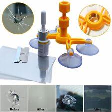 Windshield Repair Kit Quick Fix DIY Car Wind Glass Bullseye Rock Chip Crack Star