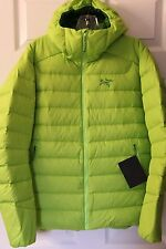 Arc'teryx Men's Thorium AR Hoody Down Jacket - Size Medium - Mantis Green - NEW