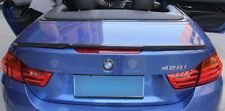 BMW M4/Série 4 Cabriolet F83 F33 fibre de carbone spoiler Trunk Boot lid Lip