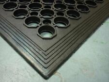 Safety Cushion Mat Rubber floor mat wet or dry drainage holes 4 factory kitchen