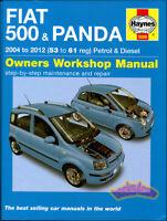 FIAT 500 SHOP MANUAL SERVICE REPAIR BOOK HAYNES CHILTON