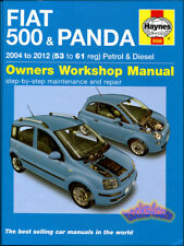 FIAT 500 SHOP MANUAL SERVICE REPAIR BOOK HAYNES CHILTON