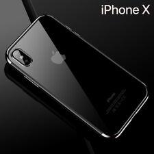 Housse Etui Coque Bumper Antichocs Case Cover Apple iPhone X/xs Gris