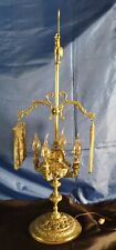 Grandes lampes à huile florentine en bronze  fin 19ème début 20ème poids 4 kg