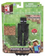 Minecraft Core Enderman Action Figure with Accessory