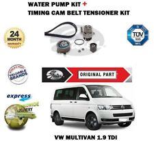 Para VW Multivan 1.9TDI 8V 2003-2009 Gates Correa de Distribución + Bomba Agua