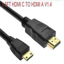 HDMI male to Mini HDMI A/V VideoTV Cable for Sony HDR-PJ200/v/e HDR-TD20 v/e/r