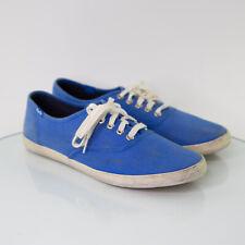 KEDS Men's Sneakers Canvas Lo Top Low Size 10 Retro Sky Blue