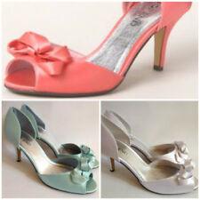 Satin Dress Slim Heels for Women