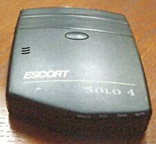 Escort Solo 4 Cordless Portable Radar Detector (Not Working)