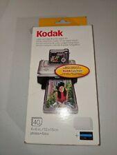 Kodak EasyShare PH-40 Color Cartridge & Photo paper Kit NOB