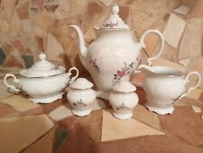 49 Pcs 'Bavarian Rose' Fine China from Royal Kent Poland - Excellent Condition