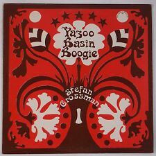 STEFAN GROSSMAN: Yazoo Basin Boogie USA ORIG Vinyl LP