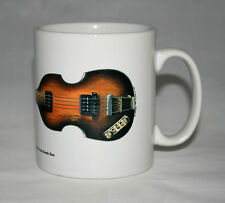 Guitar Mug. Paul McCartney's Hofner 500/1 Beatle Bass Illustration.
