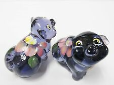 "5220ZA - Fenton 2-1/2"" Hand Painted Pig Figurine, design by Stacy Williams - NIB"