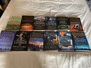 bernard cornwell the last kingdom series - The War Lord author signed copy