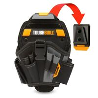 ToughBuilt LARGE DRILL HOLSTER 13 Pockets & Loops +ClipTech Hub *USA Brand