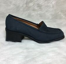 cf3652adf5d Nickels Soft Women s Blue Brushed Leather Dress Shoes Size 7 M