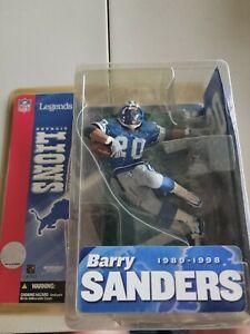 Barry Sanders McFarlane action figure Series 1 Legends Detroit Lions