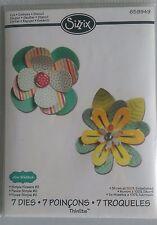 sizzix thinlits simple flowers #2... 7 die set by Lori Whitlock RRP £14.99