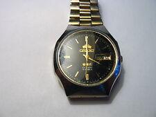Vintage Japan Orient 21 jewel Automatic 37mm  Watch 469LT6-7A  /224k