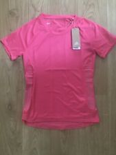 Adidas Pink Rise Up N Run Parley T-shirt Size XS New EI6311